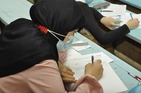 جامعة المنيا بدأت امتحانات اخر العام فى وسط اجراءات احترازية مشددة