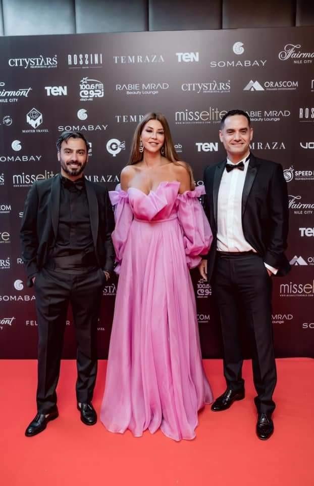 تتويج Miss Elite بحضور نجوم مصر مع الذهبية نوال الزغبي