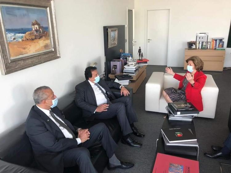 وزير التعليم العالي والبحث العلمي يزور مؤسسة champlimaud البحثية بالبرتغال