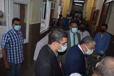 حادث مأساوى على طريق دخلة الصحراوى بالمنيا  ومتابعة المحافظ للمصابين