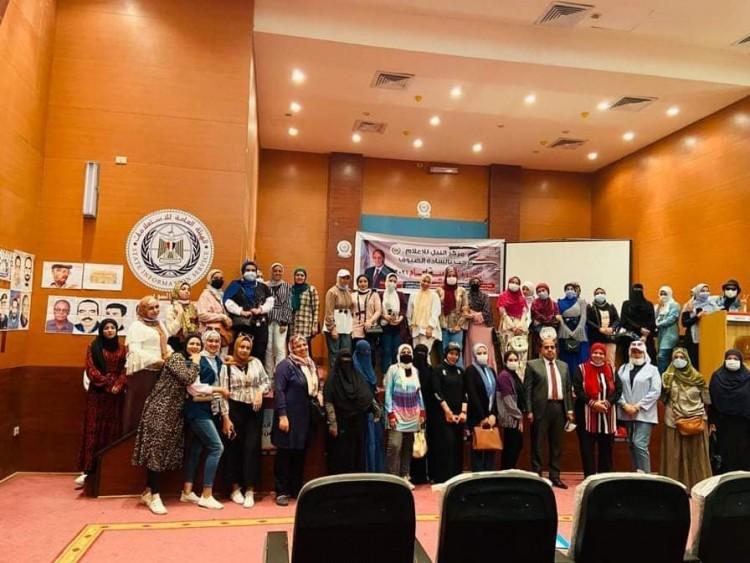 """ندوة عن """"التمكين السياسى والاقتصاد للشباب """"بمركز النيل للإعلام بالسويس"""