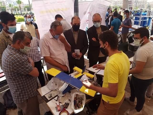 الجامعة المصرية الروسية تنظم الملتقى العلمى للاتصالات والميكاترونيك بـ 150 مشروع