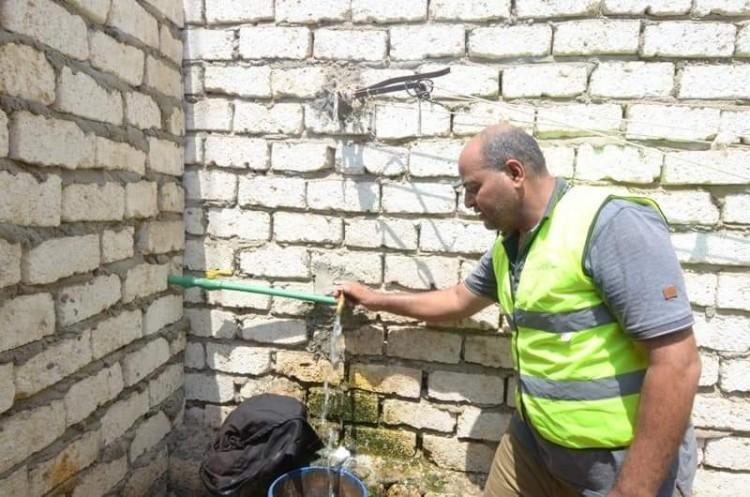 بتكلفة 108 ألف جنيه الأورمان توصل 20 حالة وصلة مياه بالحامول