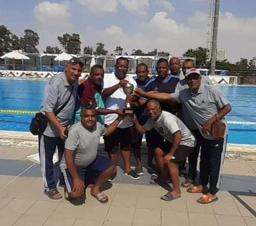 فوز فريق كيما لكرة الماء بالمركز الثالث ببطولة الجمهورية للشركات