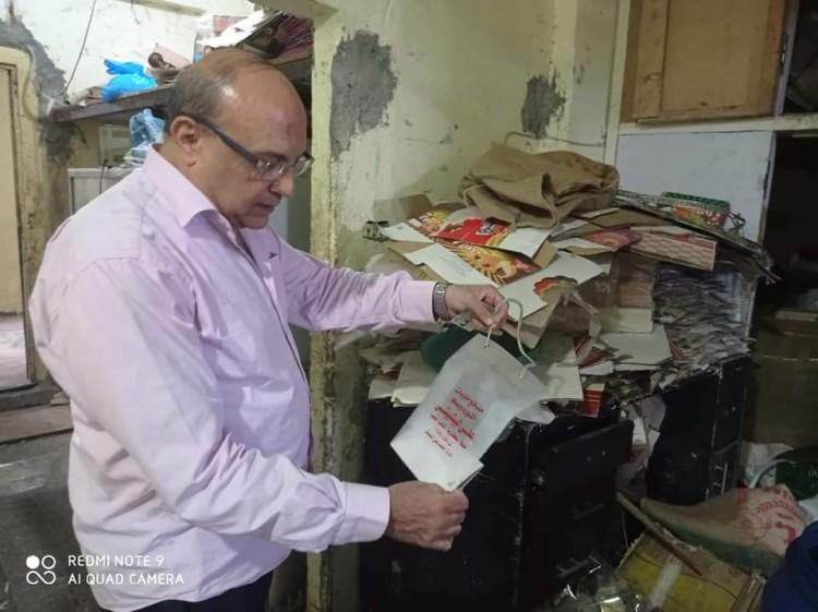 «قبل ترويجها في الأسواق » تموين الاسكندرية تضبط 20ألف قطعة حلوى المولد مجهولة المصدر