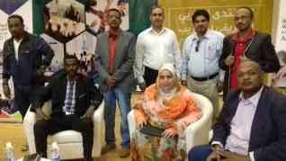 تكريم مبادرة مصر والسودان ايد واحده بالمنتدى العربي الأفريقي للتدريب