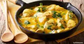 دجاج بالكاري والكريمة على الطريقة الهندية من الشيف غادة عاطف