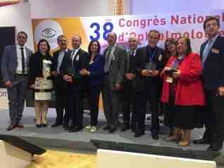 الجمعية الرمدية التونسية تكرم الدكتورة دلال شوقي رئيس الجمعية الرمدية المصربة خلال مؤتمر علمي