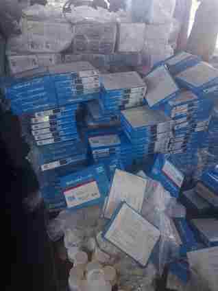 بالصور.. جمارك سفاجا تضبط محاولة تهريب كمية من الأدويةالبشرية