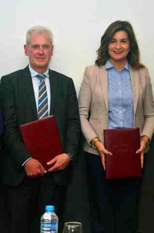 بروتوكول تعاون بين الهجرة والمنظمة الدوليه للدعم الفنى لمشروعات الوزارة