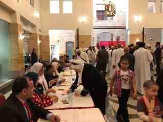إقبال كثيف من المصريين بالقنصلية المصرية بجدة للإدلاء بأصواتهم