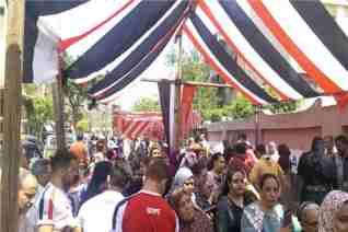 الشهابى يصف حشود المصريين على الاستفتاء بأنه اقبال كبير غير مسبوق