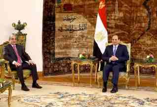 الرئيس السيسي يؤكد علي العلاقات التاريخية العميقة مع قبرص