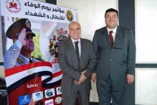 دكتوراحمد عبدالله يكرم ابطال تحرير سيناء واسر الشهداء