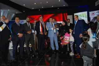 بالصور الهلال والمها واعمار اليكس يحتفلون بتحرير سيناء بتكريم 50بطل من ابطال اكتوبر