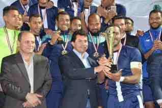 منتخب القاهرة الصم يفوز بالنسخة الثانية بدوري مراكز الشباب