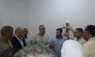« رشاد » رئيس حزب مستقبل وطن يفتتح وحدة العلاج الطبيعى بوحدة الاشراف الغربية بقنا