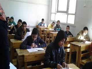 بدء امتحانات الفصل الدراسي الثاني للمرحلة الإعدادية في مطروح