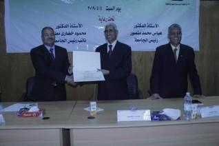 رئيس جامعة الوادى يشهد فعاليات يوم العلم السادس ٢٠١٩