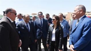 وزيرا الإستثمار والتنمية المحلية يتفقدان أعمال التطوير النهائية للمنطقة الحرة بمدينة نصر