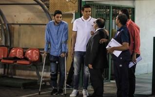 طبيب الأهلي يكشف البرنامج العلاجي لـ«سعد»و«نيدفيد» وموعد عودتهما لألمانيا