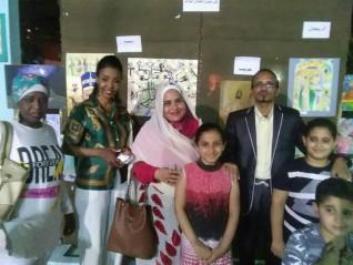 مبادرة مصر والسودان أيد واحدة تشارك أهالى السيدة احتفالات رمضان