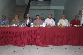 عباس منصور يشارك حفل الإفطار الجماعي لطلاب هندسة جنوب الوادي