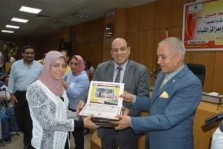 محافظة المنيا : تكريم 226 من الأبطال والمتميزين لذوي الإعاقة بمراكز الشباب