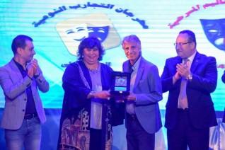 وزيرة الثقافة ومحافظ الاسكندرية يفتتحان الملتقي الثاني لشباب المخرجين المسرحيين