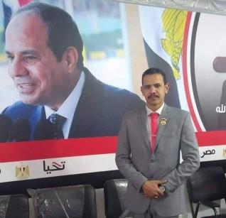 """""""عمر خفاجى """" عضو لمكتب التنفيذي  بمبادرة ولاد البلد"""