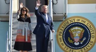 ترامب يصل إلى اليابان في زيارة رسمية