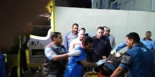 إصابة طفل و٥ أفراد آثر حادث أليم بالبحيرة