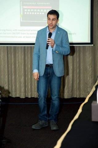 شاب سوري يحصل على جائزة إديسون أوسكار للإبتكار