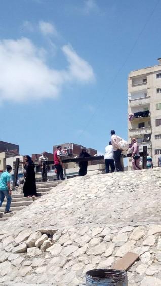 مصرع شقيقين علي مزلقان الموت بشارع المواسير بالاسكندرية