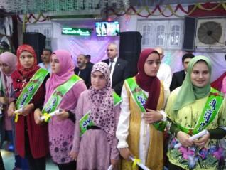 قرية ميت المخلص بالغربية تحتفل بأبنائها المتفوقين