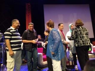 وكيل وزارة الثقافة يشارك احتفالية عزيز على بدار الأوبرا المصرية