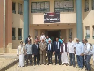 النيلى: خريجى مدرسة الضبعة النووية نواة لتشغيل محطات الطاقة النووية فى العالم العربى