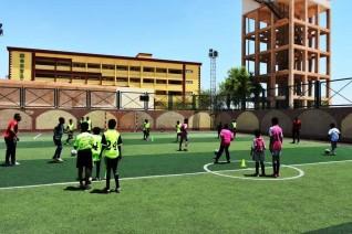 محافظ أسوان يتابع الإستعدادات لعرض مباريات كأس الأمم الإفريقية فى مراكز الشباب وأندية المحافظة