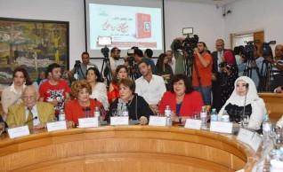 وزيرة الثقافة تشهد إحتفالية توقيع كتاب حسين رياض  صاحب الألف وجه