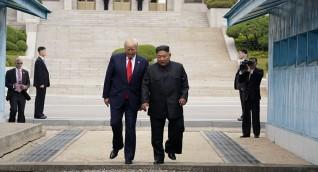 ترامب وكيم يلتقيان في المنطقة منزوعة السلاح بين الكوريتين