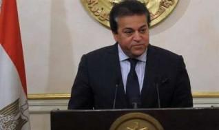 وزير التعليم العالي يفتتح مبنى للأنشطة الطلابية في الجامعة المصرية اليابانية