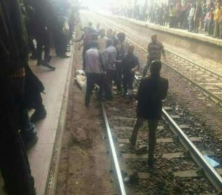 إصابة شخص بعد سقوطه من قطار بمحطة أبو تيج فى أسيوط