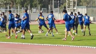 بالصور.. أسوان يواصل تدريباته بمعسكر الفريق بالمركز الأولمبي بالمعادى