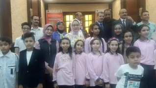 فرق أحمد بهاء الدين تتألق فى إحتفالية تعزيز إتاحة الفرص التعليمية