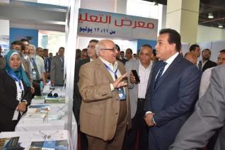 وزير التعليم العالى يفتتح معرض أخبار اليوم للجامعات