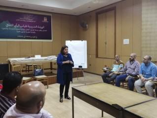 المنهجية البحثية ضمن فعاليات قياس الرأي الثقافي بمصر الجديدة