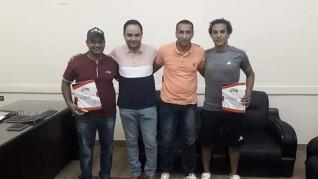 نادي المنيا الرياضي يجدد تعاقده مع إثنين من حراس مرمى كرة الصالات