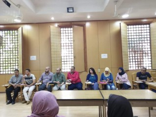 أدوات البحث الميداني ضمن فعاليات قياس الرأي الثقافي بمصر الجديدة