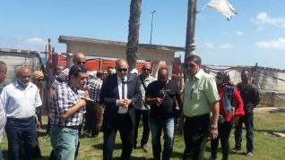 محافظ الإسكندرية يكلف السكرتير العام لتفقد ميادين وحدائق وسط المدينة استعدادا للعيد القومي