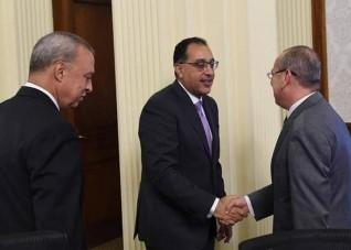 محافظ كفر الشيخ يشارك فى الاجتماع السادس لمجلس المحافظين